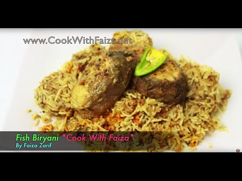 Easy Fish Biryani…