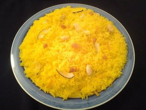 Zarda (sweet rice)…