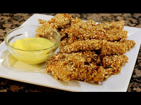 Pretzel Crusted Chicken…